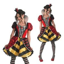 Rubies Ladies Official Wonderland Queen Of Hearts Womens Fancy Dress Costume