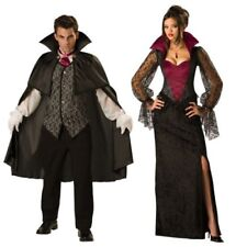 InCharacter Midnight Vampire Adults Halloween Gothic Fancy Dress Costume Outfit