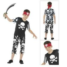 Smiffys Kids Rotten Pirate Boy Fancy Dress Costume Childs World Book Week Outfit