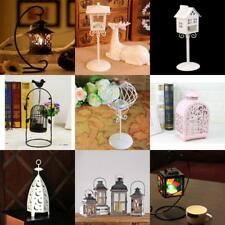 Retro Lantern Tea Light Candle Holder Indoor / Outdoor Garden Hanging Tabletop