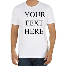 Custom Personalized T shirts your own text many colors business T shirt tee gift