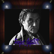 Ian McShane American Gods TV Signed Autographed Framed Photo/Canvas Print