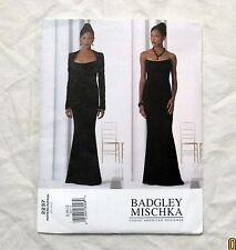 Vogue Sewing Pattern Strapless Gown Bolero Uncut FF Formal Prom Badgley Mischka
