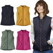 Joules Minx Ladies Horse Riding Warm Winter Equestrian Fitted Quilted Gilet