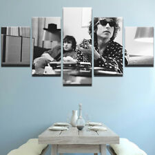 Framed Home Decor Canvas Print Painting Wall Art Bob Dylan Basement Tapes Poster