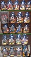Star Wars Hasbro ROTS 9 Figures Available MOC Every 2nd Ships Free