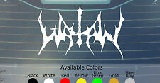 WATAIN VINYL DECAL STICKER CUSTOM SIZE/COLOR DISSECTION MERRIMACK TRIBULATION