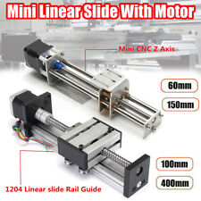 CNC Z Axis Slide DIY Linear Milling Engraving Machine Stroke 60/00/150/400mm