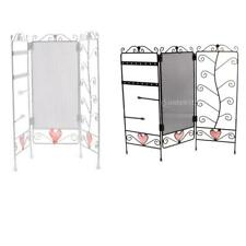 Foldable Screen Necklace Ring Earring Display Organizer Holder Show Rack