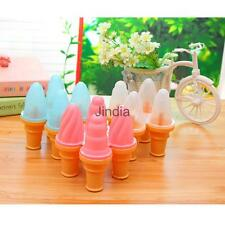 Silicone Popsicle Ice Cream Mold Pop Mould Homemade Frozen Lolly Jelly Tray