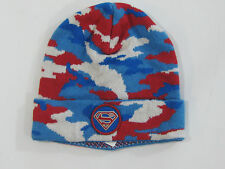 NWT Baby Gap Boys XS/S 12-18-24 Months Superman Camoflauge Sweater Hat Winter