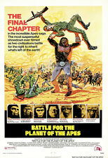 Battle For The Planet Of The Apes Movie Poster Print - 1973 Sci-Fi - 1 Sheet Art