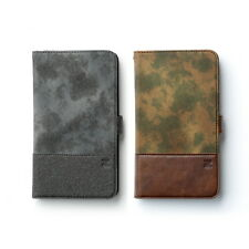Zenus Camo Wallet Leather Protect Slim Diary Cover Case For Samsung Galaxy Note4