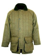 Bronte Mens Derby Tweed Shooting Jacket ideal - Country Sports *Free Post*