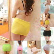 Sexy Women Candy Color Stretch Tight Short Bodycon Lady Pleated Mini Skirt Hot