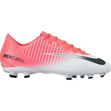 Nike Jr Mercurial Vapor XI Firm Ground Cleats 903594-601 soccer shoes $100