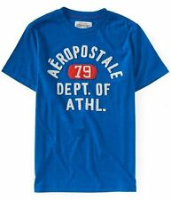 AEROPOSTALE MENS T-SHIRT LOGO GRAPHIC TEE SHIRT EMBROIDERED PRINTED T SHIRT