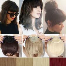 Sexy Synthetic Hair Fringe Bang Hairpiece Clip-In Front Hair Extension Straight