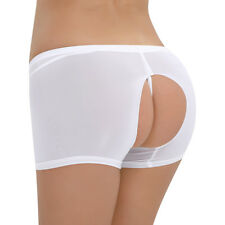 Womens Lingerie See-through Briefs Trunks Boyshorts Shorts Panties Underwear New