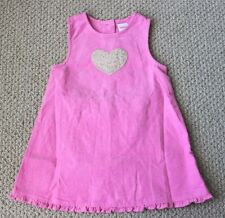 Gymboree 18 24 M Jumper Dress Ruffle Corduroy Heart Cheetah Girls FREE Ship NWT