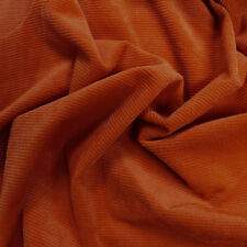 Solid Colored Stretch Ribbed Corduroy Fabric by the Yard or Sample Swatch