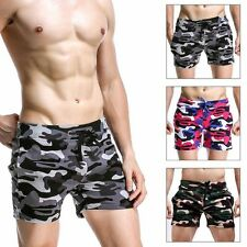 Mens Summer Camo Boardshorts Surf Beach Swim Shorts Swimwear Trunks Casual Pants