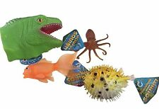Marine Life Squirters Tactile Soft Squish Sensory Pool Toy Swim Class Party
