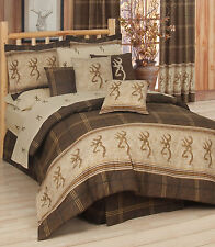 BROWNING BUCKMARK BEDDING - COMFORTER SET - ALL SIZES