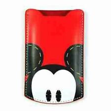 Mickey Minnie Mouse Snow White Walt Disney 5S 5 4S 4 Leather Cover iPhone Case