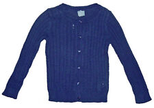 Baby Gap NWT Navy Blue Pointelle Ribbed Cardigan Sweater 4 4T $27