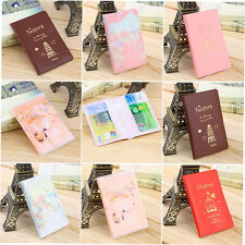 New Travel Passport Holder Protect Cover Case Card Ticket Container Pouch GH