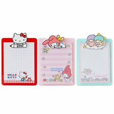 JAPAN SANRIO HELLO KITTY MY MELODY LITTLE TWIN STARS MEMO PAD STICKERS