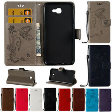 For Samsung Luxury PU Leather Magnetic Flip Card Slot Wallet Case Stand Cover