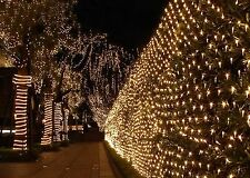 100 LED Mesh Net Fairy String Lights Outdoor  Christmas Party Wedding Decoration