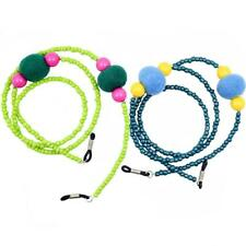 Colorful Beaded Eyeglass Sunglasses Holder Chain Strap Neck Cord Necklace