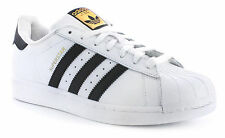 New Mens/Gents White Adidas Originals Superstar Foundation Trainers. UK SIZES