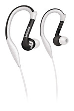 Philips SHQ3200 Flexible Sports Running Ear Hook Clip Gym Earbuds Earphones