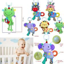 Baby Soft Rattles Bed Hanging Bell Teether Toy Kid Development Handkerchief Doll