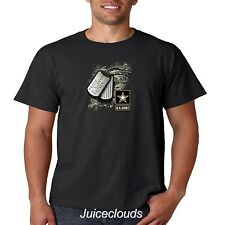 Army Dad T Shirt Proud US Army Father American Soldier Military Men's Tee