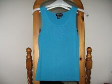 Episode sleeveless vest top Turqoise size Small BNWOT