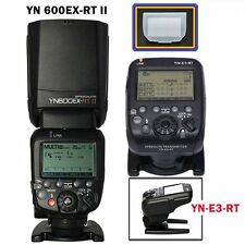 Yongnuo YN600EX-RT II Speedlite Flash Light + YN-E3-RT Transmitter for Canon US