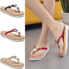 3Colro Womens Summer Comfort Casual Flip Flop Thong Flat Sandal Slipper Shoes Sz