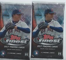 2 PACK LOT 2017 TOPPS FINEST GUARANTEED AUTO AUTOGRAPH HOT PACKS JUDGE?