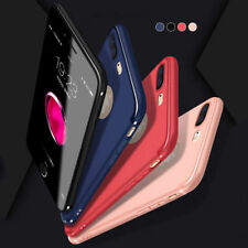 For iPhone 7/7plus Ultra-thin Slim Shockproof Silicone Soft TPU Case Cover Skin