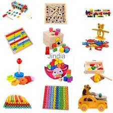 Baby Kid Children Intellectual Developmental Educational Game Wooden Math Toys