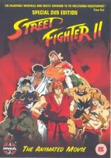 Street Fighter 2 - Special Edition Animated Movie (DVD GENUINE UK RELEASE)
