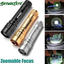 15000LM 3-Modes Flashlight CREE XML T6 LED 18650 Zoomable Torch Lamp Light