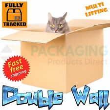 """LARGE D/W CARDBOARD REMOVAL STORAGE BOXES 18x12x12"""""""