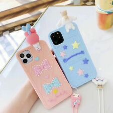Cartoon cute kitty My Melody dog SIlicone Soft case Cover for iPhone 7 6 6S Plus