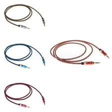 3.5mm Jack Audio Cable Male to Male Stereo Car AUX Auxiliary Cord for MP4 PC